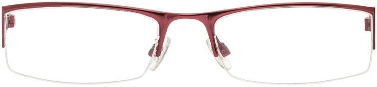 PRESCRIPTION-GLASSES-MODEL-KENNETH COLE KC146-BURGUNDY-FRONT