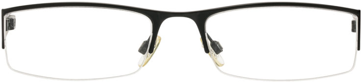 PRESCRIPTION-GLASSES-MODEL-KENNETH COLE KC146-MATTE BLACK-FRONT