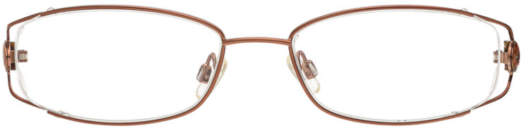PRESCRIPTION-GLASSES-MODEL-KENNETH COLE KC149-COPPER -FRONT