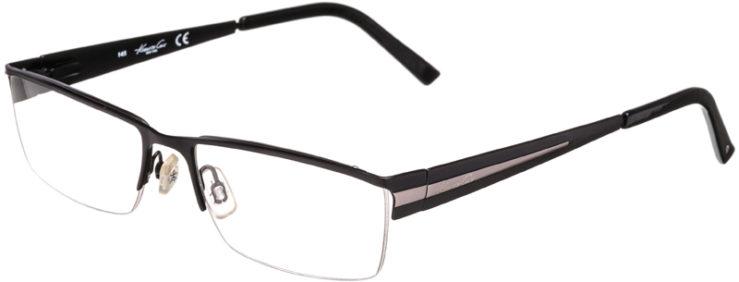 PRESCRIPTION-GLASSES-MODEL-KENNETH COLE KC166-MATTE BLACK-45