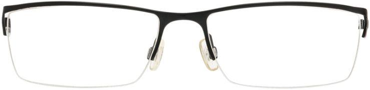 PRESCRIPTION-GLASSES-MODEL-KENNETH COLE KC166-MATTE BLACK-FRONT