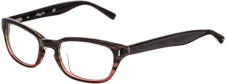 PRESCRIPTION-GLASSES-MODEL-KENNETH COLE KC171-BROWN GRADIENT-45