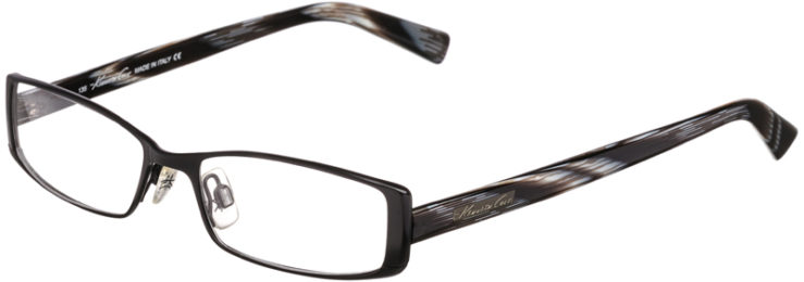PRESCRIPTION-GLASSES-MODEL-KENNETH COLE KC921-MATTE BLACK -45
