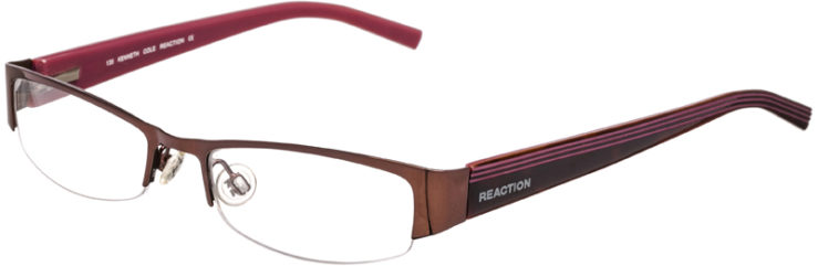 PRESCRIPTION-GLASSES-MODEL-KENNETH COLE REACTION KC699-COPPER -45