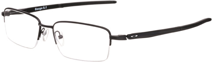 PRESCRIPTION-GLASSES-MODEL-OAKLEY GAUGE 5.1-MATTE BLACK -45