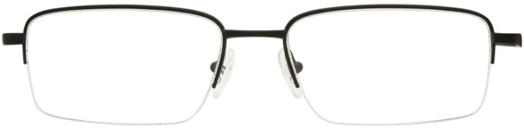 PRESCRIPTION-GLASSES-MODEL-OAKLEY GAUGE 5.1-MATTE BLACK -FRONT