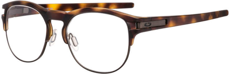 PRESCRIPTION-GLASSES-MODEL-OAKLEY LATCH KEY RX-BROWN TORTOISE-45