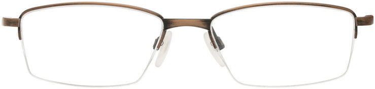 PRESCRIPTION-GLASSES-MODEL-OAKLEY LIMIT SWITCH 0.5-SATIN TOAST-FRONT