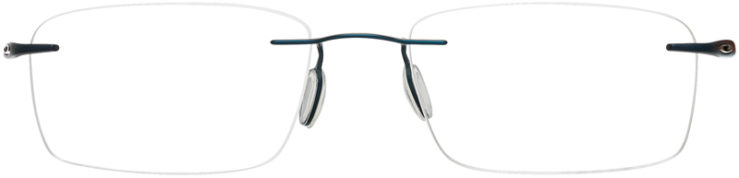 PRESCRIPTION-GLASSES-MODEL-OAKLEY TITANIUM GAUGE 3.1-MATTE MIDNIGHT-FRONT