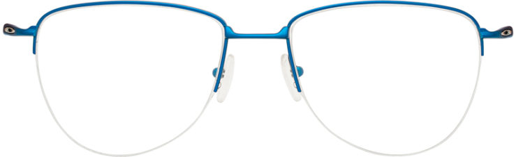 PRESCRIPTION-GLASSES-MODEL-OAKLEY TITANIUM PLIER-SATIN AZURA-FRONT