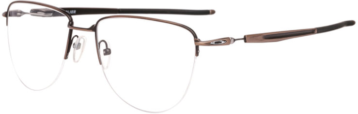PRESCRIPTION-GLASSES-MODEL-OAKLEY TITANIUM PLIER-SATIN TOAST-45