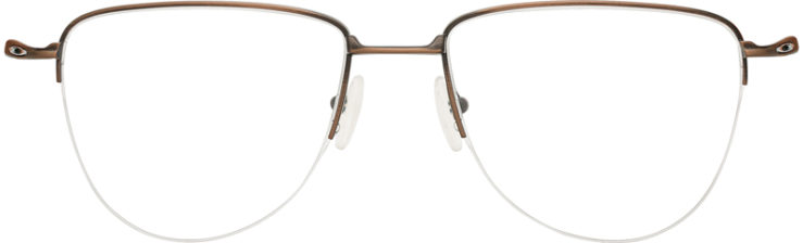 PRESCRIPTION-GLASSES-MODEL-OAKLEY TITANIUM PLIER-SATIN TOAST-FRONT