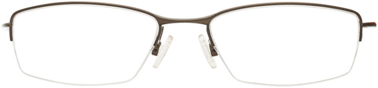 PRESCRIPTION-GLASSES-MODEL-OAKLEY WINGBACK-PEWTER-FRONT