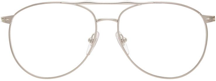 PRESCRIPTION-GLASSES-MODEL-PERSOL 2453-V-SILVER-FRONT