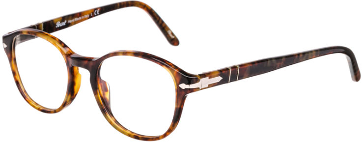 PRESCRIPTION-GLASSES-MODEL-PERSOL 2945-V-LIGHT TORTOISE-45