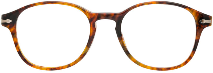 PRESCRIPTION-GLASSES-MODEL-PERSOL 2945-V-LIGHT TORTOISE-FRONT