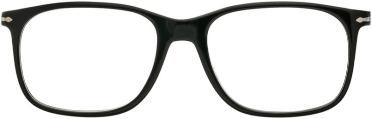PRESCRIPTION-GLASSES-MODEL-PERSOL 3213-V-BLACK-FRONT