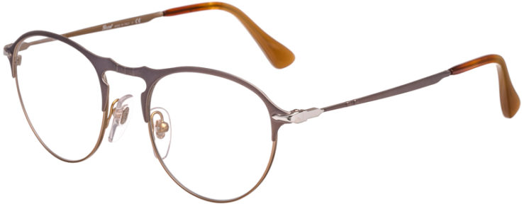 PRESCRIPTION-GLASSES-MODEL-PERSOL 7092-V-MATTE GUNMETAL COPPER-45