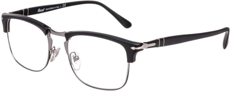 PRESCRIPTION-GLASSES-MODEL-PERSOL 8359-V-MATTE BLACK SILVER-45