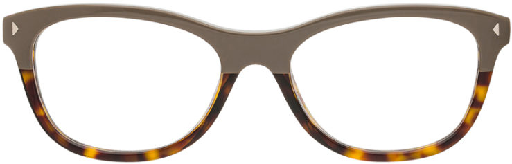 PRESCRIPTION-GLASSES-MODEL-PRADA VPR 05R-GREY TORTOISE-FRONT