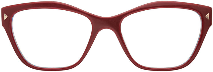 PRESCRIPTION-GLASSES-MODEL-PRADA VPR27S-BRURGUNDY-FRONT