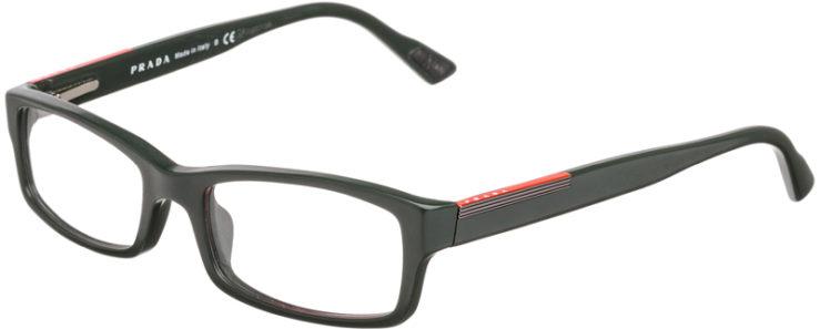 PRESCRIPTION-GLASSES-MODEL-PRADA VPS 10A-MATTE OLIVE-45