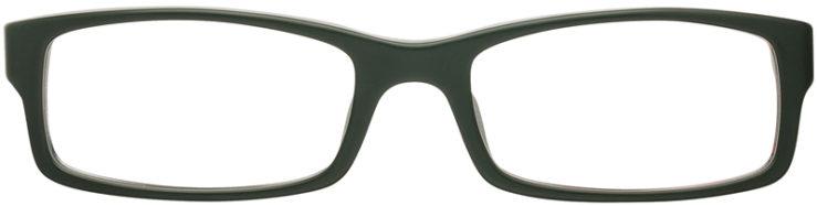 PRESCRIPTION-GLASSES-MODEL-PRADA VPS 10A-MATTE OLIVE-FRONT
