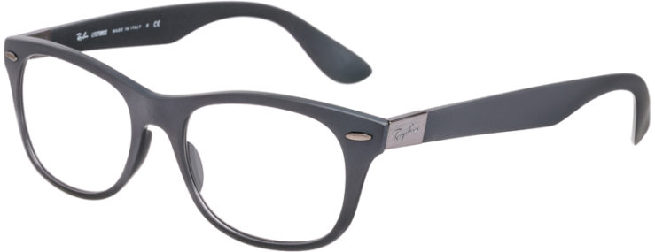 PRESCRIPTION-GLASSES-MODEL-RAY BAN LITEFORCE RB7032-MATTE GREY -45