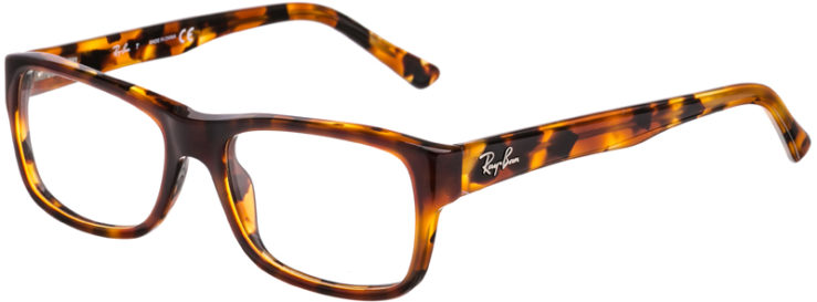PRESCRIPTION-GLASSES-MODEL-RAY BAN RB5268-HAVANA TORTOISE-45