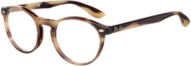 PRESCRIPTION-GLASSES-MODEL-RAY BAN RB5283-GREY TORTOISE-45