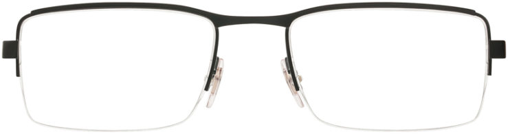 PRESCRIPTION-GLASSES-MODEL-RAY BAN RB6331-MATTE BLACK GREY-FRONT