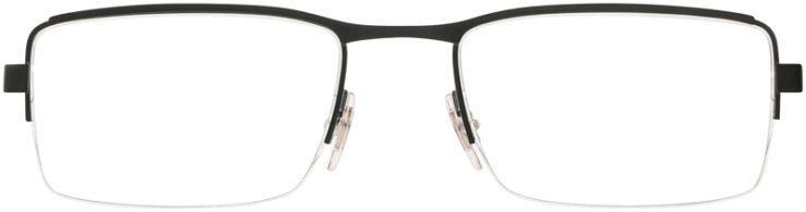 PRESCRIPTION-GLASSES-MODEL-RAY BAN RB6331-MATTE BLACK GREY-FRONT