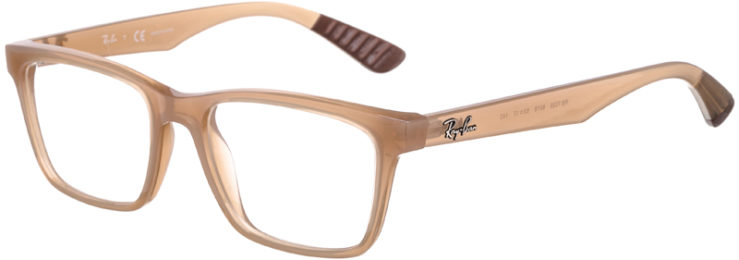 PRESCRIPTION-GLASSES-MODEL-RAY BAN RB7025-BEIGE -45