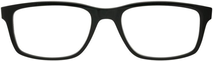 PRESCRIPTION-GLASSES-MODEL-RAY BAN RB7063-BLACK GREY-FRONT