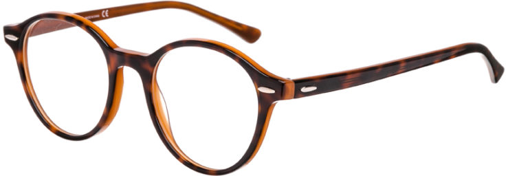 PRESCRIPTION-GLASSES-MODEL-RAY BAN RB7118-HAVANA TORTOISE-45