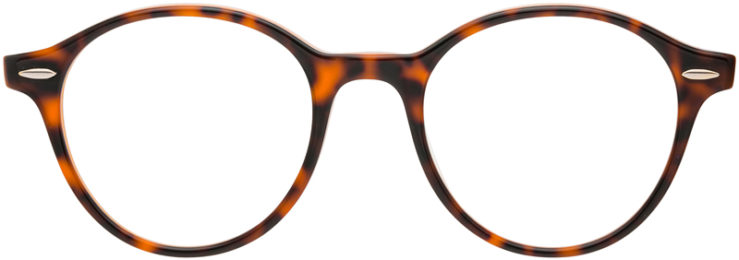 PRESCRIPTION-GLASSES-MODEL-RAY BAN RB7118-HAVANA TORTOISE-FRONT