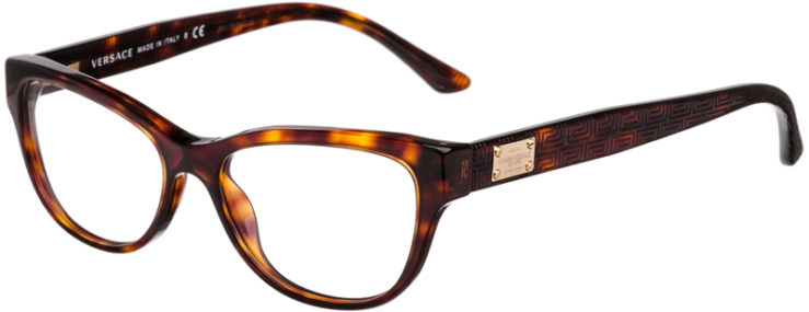 PRESCRIPTION-GLASSES-MODEL-VERSACE 3204-TORTOISE-45