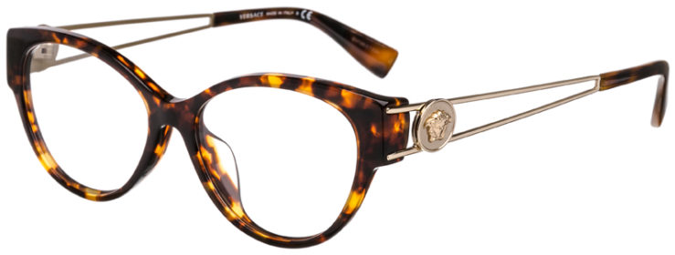 PRESCRIPTION-GLASSES-MODEL-VERSACE 3254-A-TORTOISE-45