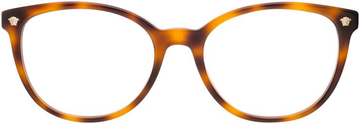 PRESCRIPTION-GLASSES-MODEL-VERSACE 3256-TORTOISE-FRONT
