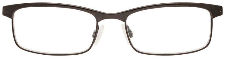 PRESCRIPTION-GLASSES-OAKLEY-OX3182-TAXED-BROWN-FRONT