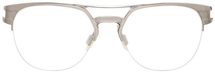 PRESCRIPTION-GLASSES-OAKLEY-OX5134-SATIN-CHROME-FRONT
