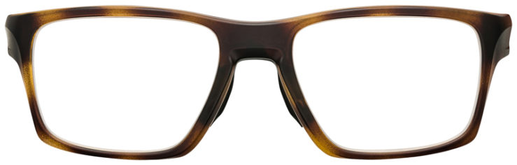 PRESCRIPTION-GLASSES-OAKLEY-OX8140-MATTE-BROWN-TORTOISE-FRONT