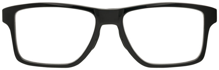 PRESCRIPTION-GLASSES-OAKLEY-OX8143-POLISHED-BLACK-FRONT