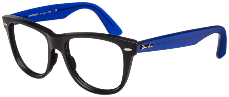 PRESCRIPTION-GLASSES-RAYBAN-RB2140-BLACK-AND-BLUE-45