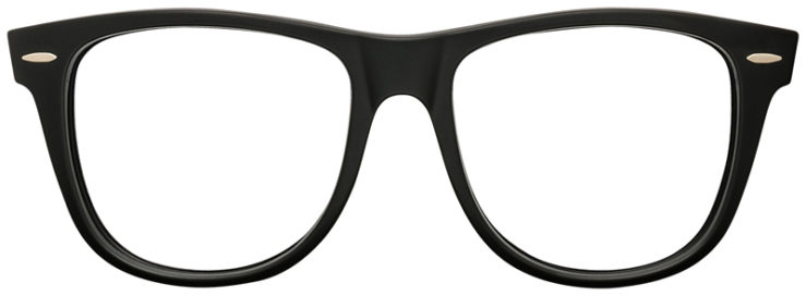PRESCRIPTION-GLASSES-RAYBAN-RB2140-BLACK-AND-BLUE-FRONT