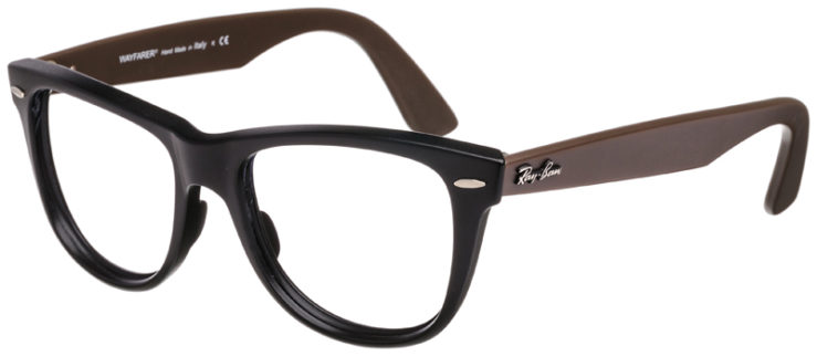 PRESCRIPTION-GLASSES-RAYBAN-RB2140-BLACK-AND-BROWN-45