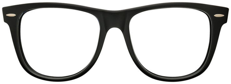 PRESCRIPTION-GLASSES-RAYBAN-RB2140-BLACK-AND-BROWN-FRONT