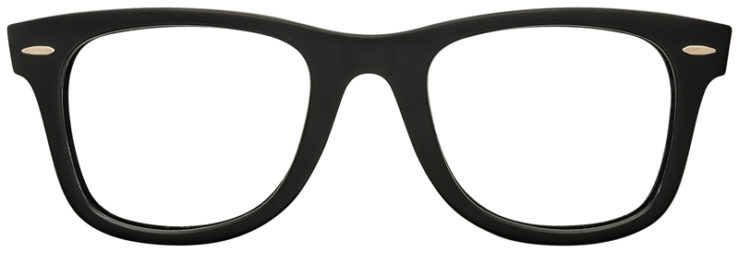 PRESCRIPTION-GLASSES-RAYBAN-RB2140-BLACK-AND-BURGANDY-FRONT