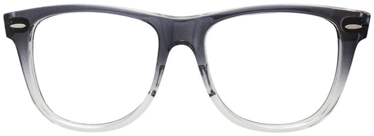 PRESCRIPTION-GLASSES-RAYBAN-RB2140-BLACK-CLEAR-FRONT