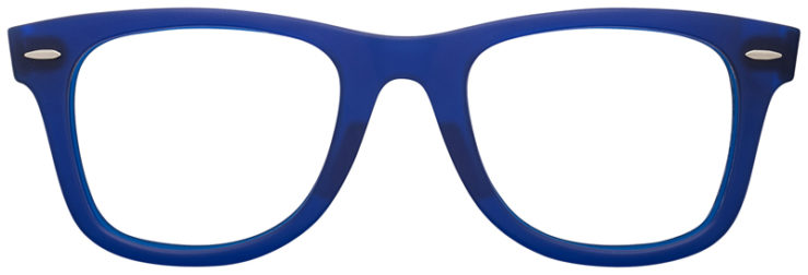 PRESCRIPTION-GLASSES-RAYBAN-RB2140-BLUE-FRONT